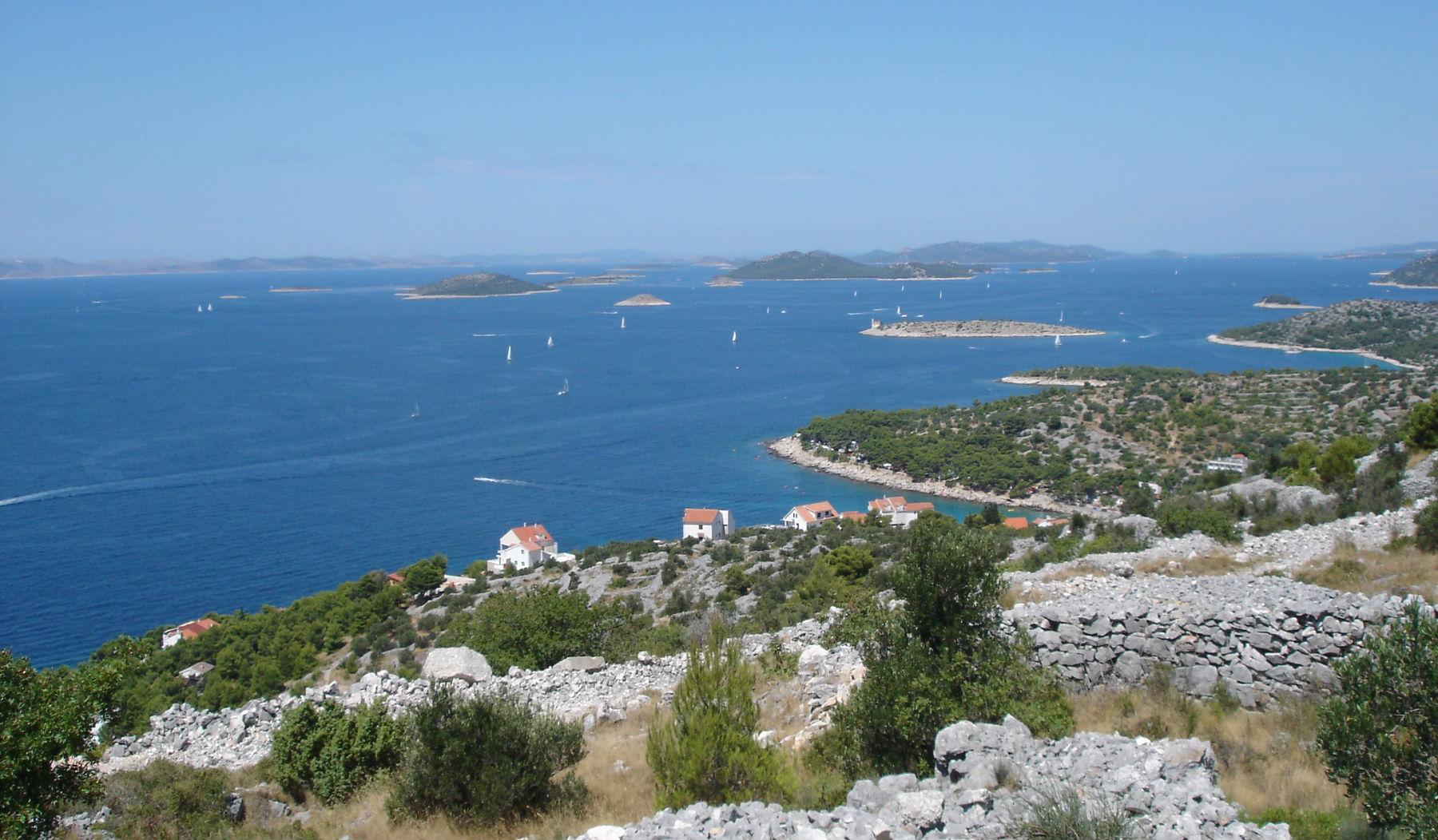 pogled Murter Hrvaška