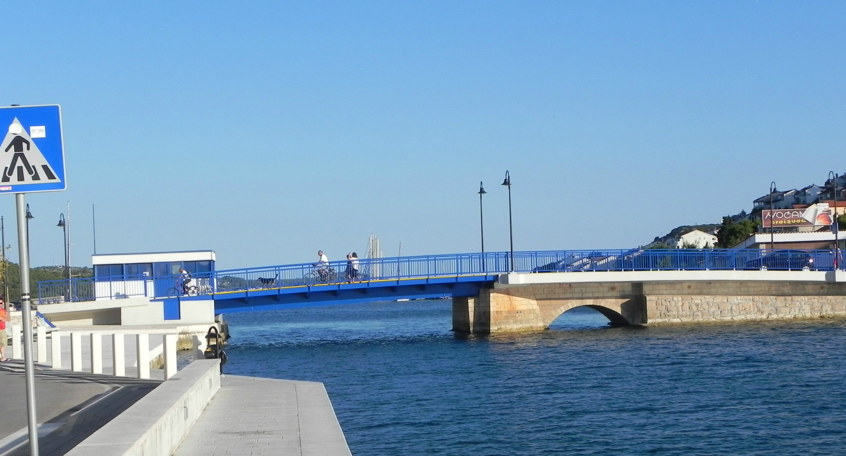 Tisno - dvizni most 2