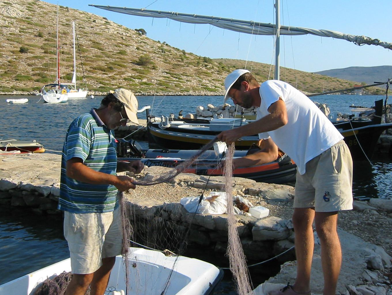 Ribiči na Kornati