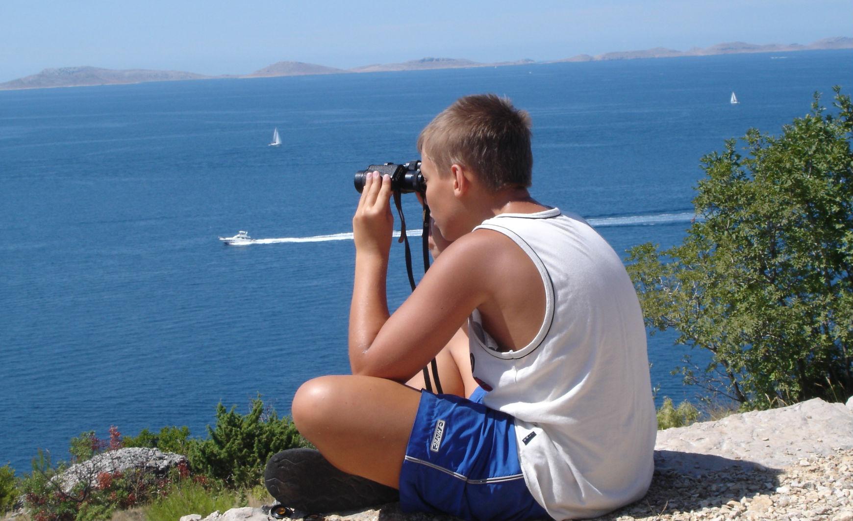 pogled iz hriba Murter
