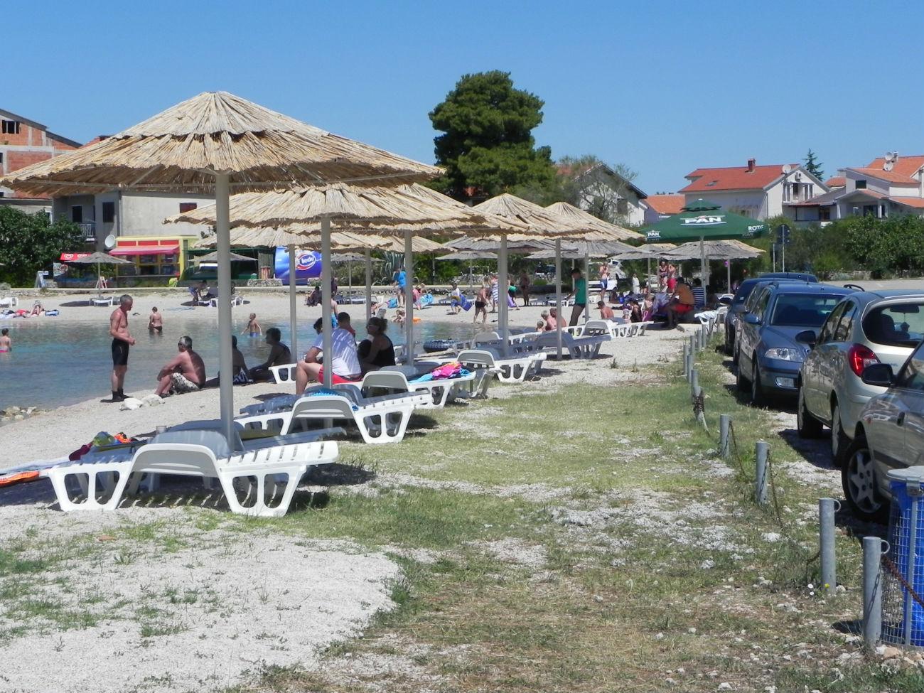 peščena plaža Vodice