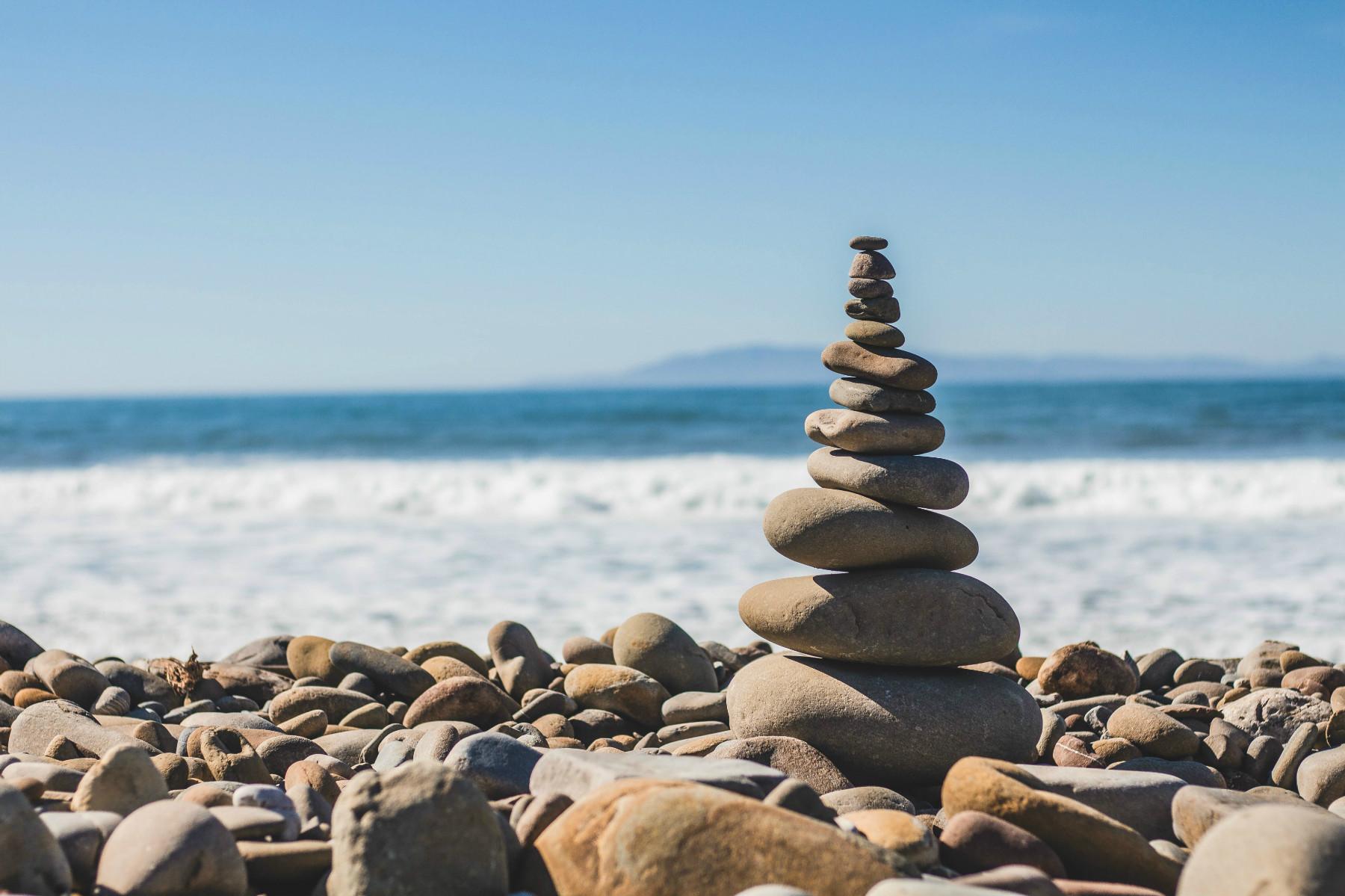Kamnita plaža Vodice