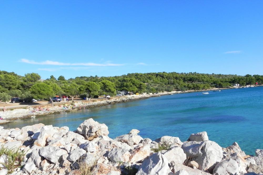 plaža na Podvrške Murter