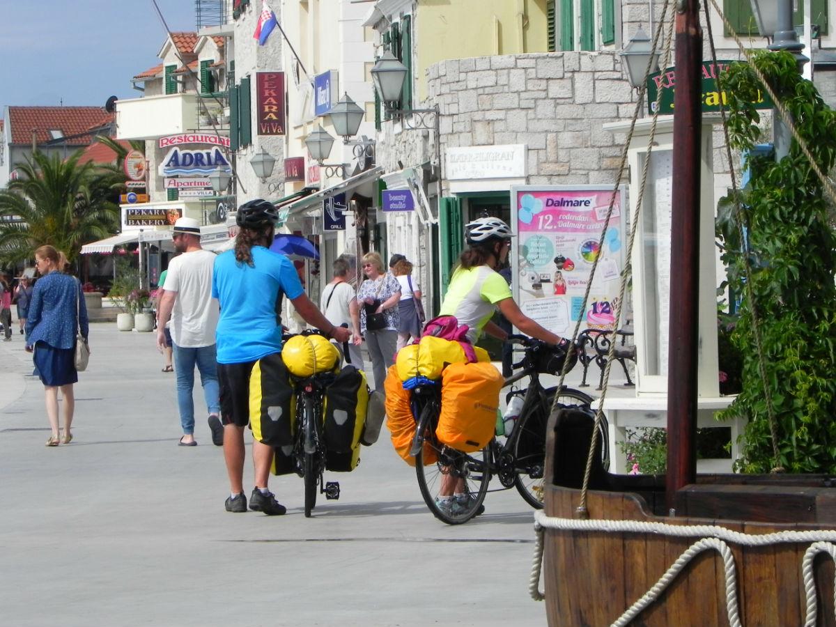 kolesarjenje Vodice